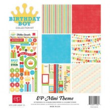 Echo Park - BIRTHDAY BOY Mini Theme - kompletní sada