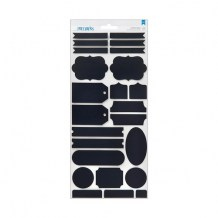 American Crafts - REMARKS Chalkboard Stickers - samolepky